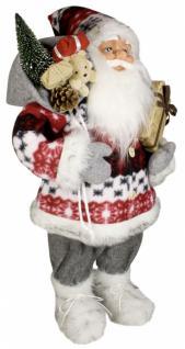 Weihnachtsmann Santaclaus Nikolaus RASMUS 60 cm