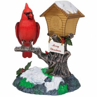 Weihnachtsvogel, Bewegung, LEDs und Musik