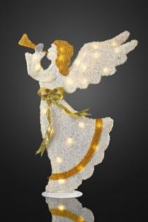 LED-Engel stehend 28 BS Baumwollbezug innen