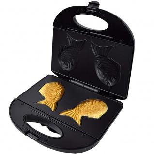 Syntrox Taiyaki Maker japanisches Gebäck in Form eines Fisches - Vorschau 5
