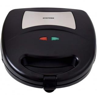 Syntrox Sandwichmaker mit austauschbaren Backplatten SM-1300W - Vorschau 5