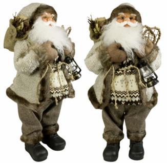 Weihnachtsmann Santaclaus Nikolaus LASSE 60 cm