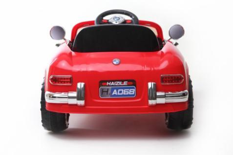 kinder elektrofahrzeug classic roadster 12v rot kaufen. Black Bedroom Furniture Sets. Home Design Ideas
