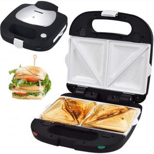Syntrox Sandwichmaker mit keramisch beschichteten Backplatten