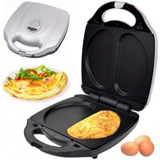 Syntrox Omelettemaker XXL mit herausnehmbaren Platten