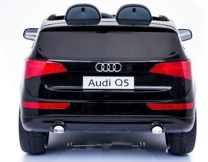 "Kinderfahrzeug - Elektro Auto "" Audi Q5"" - lizenziert - 12V7AH Akku, 2 Motoren- 2, 4Ghz Fernsteuerung, MP3 - Vorschau 5"