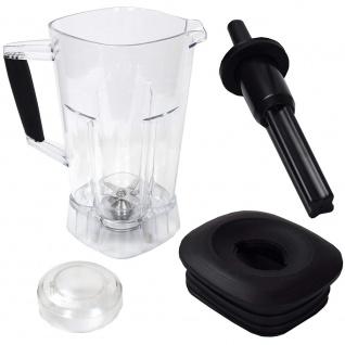 Syntrox Küchenmixer Standmixer Digital, BPA-FREI, 1800 Watt, 40000 U/Min, 2 Liter, 6 Edelstahlklingen - 7 Programme - LCD-Display - Zerkleinerer - Icecrusher - Getreidemühle - Vorschau 5