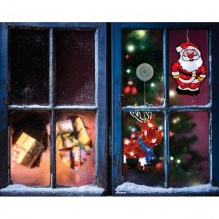 Best Season LED-Fensterbild Rentier Kunststoff batteriebetrieben - Vorschau 2