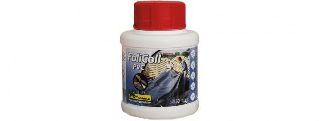 6 x Ubbink FOLICOLL - Kleber für Aqualiner PVC-Teichfolien, ausreichend für +/- 10m² - 250 ml