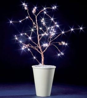 Hellum LED-Baum 60 BS weiss kupfer innen
