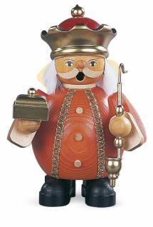 Müller-Kleinkunst aus dem Erzgebirge® seit 1899 Räuchermann Melchior, klein