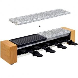 Syntrox Raclette-Grill Set Corippo mit Wechselplatten, 600 W