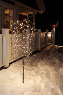 LED Lichterbaum Lichterzweig Trauerweide Höhe 1, 30 m warmweiß, Innen- oder Außen