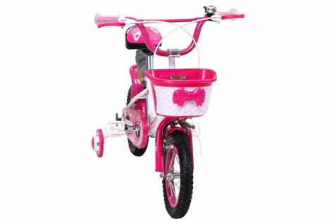 Kinder Fahrrad Daisy 12 Zoll Pink, Mädchenfahrrad - Vorschau 4