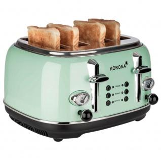 KORONA RETRO-Toaster, 230V/1630W, für 2+2 Brotscheiben