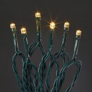 LED-Lichterkette 120 BS Timer warmweiß/grün außen