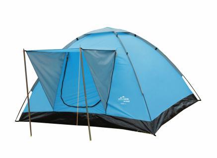 Domezelt Zelt Camping Rügen 3, für 3 Personen, 200 x 180 cm
