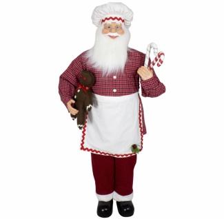 Weihnachtsmann Santa Konditor 120 cm