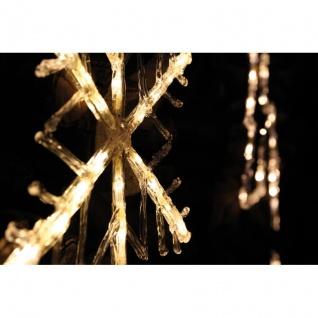 Konst Smide LED-Fensterbild Schneeflocke 24 warmweiße LEDs - Vorschau 2