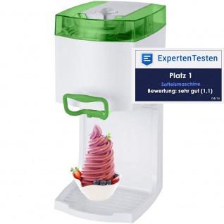 """Syntrox Softeismaschine Eismaschine Frozen Joghurt Maschine 4in1 """" grün"""""""