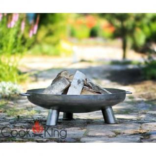 Cook King Feuerschale Bali 60cm Grillstelle Feuerstelle Feuerkorb - Vorschau 2