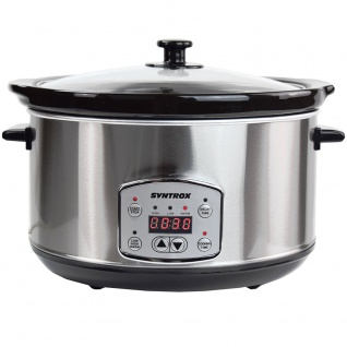 Syntrox Digitaler Slow Cooker 6, 5 Liter mit Timer - Vorschau 5