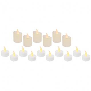 LED-Teelichter 16er-Set je 1 LED batteriebetrieben