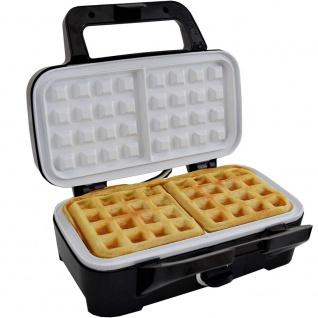 Syntrox Chef Maker 3 in 1 Sandwichmaker Waffelmaker Kontaktgrill mit Keramikbeschicht - Vorschau 2