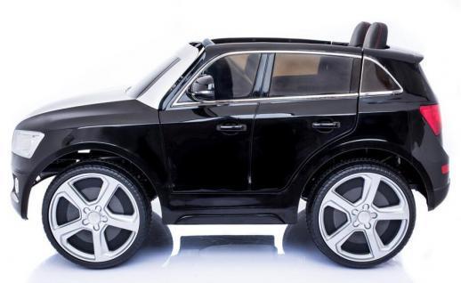 "Kinderfahrzeug - Elektro Auto "" Audi Q5"" - lizenziert - 12V7AH Akku, 2 Motoren- 2, 4Ghz Fernsteuerung, MP3 - Vorschau 2"