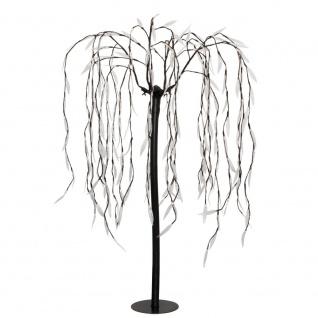 LED-Trauerweide, 400 warmweiße LEDs, H 180 cm