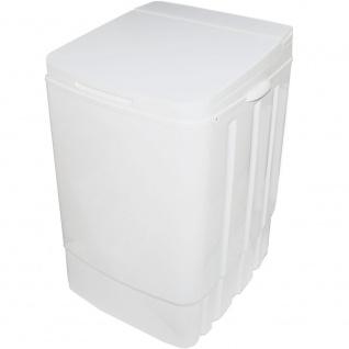 Syntrox Germany 9 Kg Waschmaschine mit Pumpe, Schleuder und Timer weiß