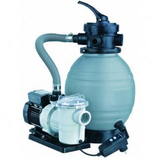 Pool Sandfilterset 300 - 2, 5 m³, Sandfilter mit Pumpe TP25