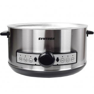Syntrox Germany Digitaler Slow Cooker 4, 5 Liter mit Timer - Vorschau 5