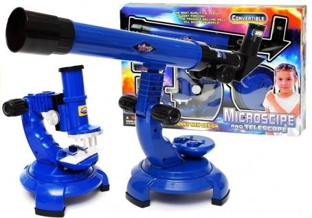 Mikroskop Teleskop Set Kleiner Wissenschaftler Teleskop für Kinder großes Set