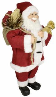 Weihnachtsmann Santaclaus Nikolaus MATTHIS 60 cm