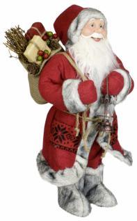 Weihnachtsmann Santaclaus Nikolaus WILLY 45 cm