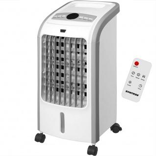 Syntrox 4 in 1 Luftkühler Luftbefeuchter Lufterfrischer Ventilator mit Fernbedienung