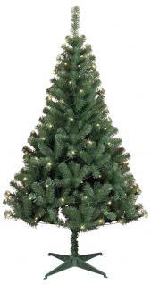 Weihnachtsbaum mit 100 LED-Lichtern - Vorschau 1