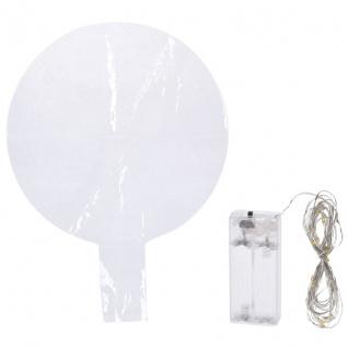 Deko-Ballon, 30 bunte LEDs, zum Befüllen mit Helium