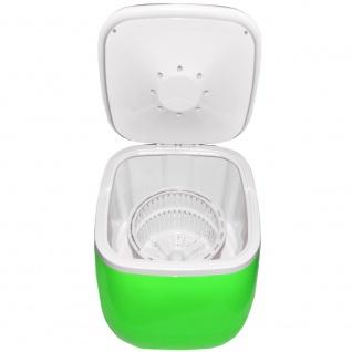 Syntrox 2, 0 Kg Waschmaschine Miniwaschmaschine mit Timer und Schleuder 150 W grün - Vorschau 3