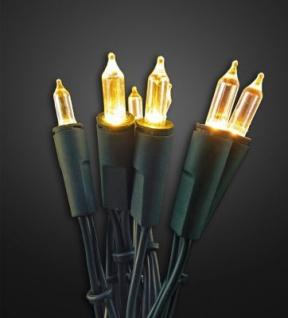 Hellum LED-Lichterkette Pisello 35 BS warmweiß/grün innen