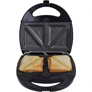 Syntrox Sandwichmaker mit austauschbaren Backplatten SM-1300W - Vorschau 3