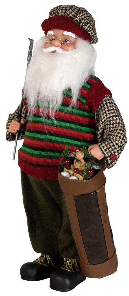Weihnachtsmann Santaclaus Nikolaus 45 cm OLAF