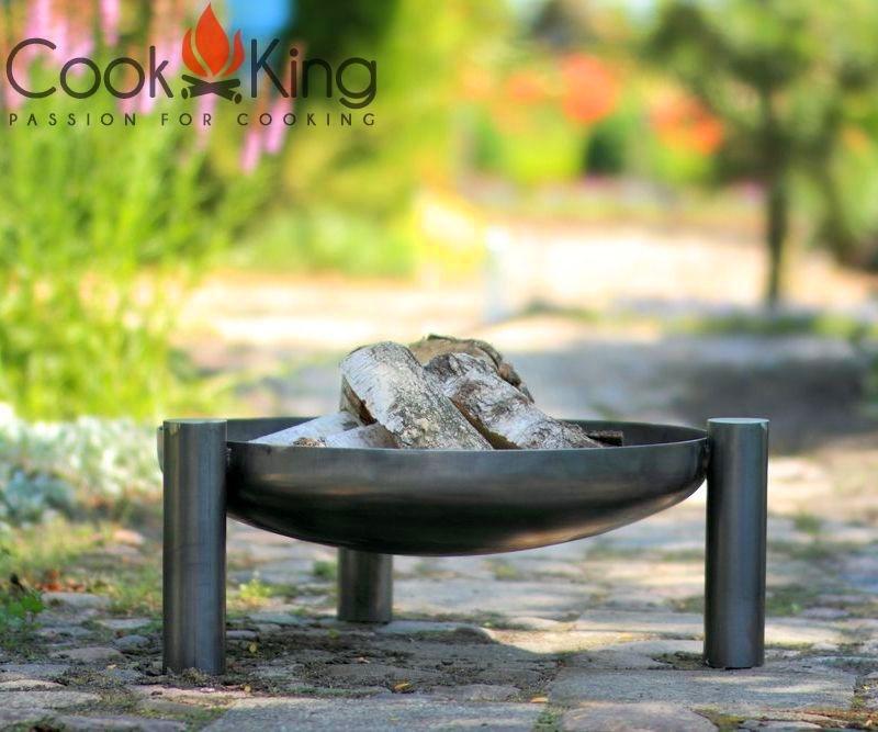 Cook King Feuerschale Palma Palma Palma 60cm Grillstelle Feuerstelle Feuerkorb 090dda