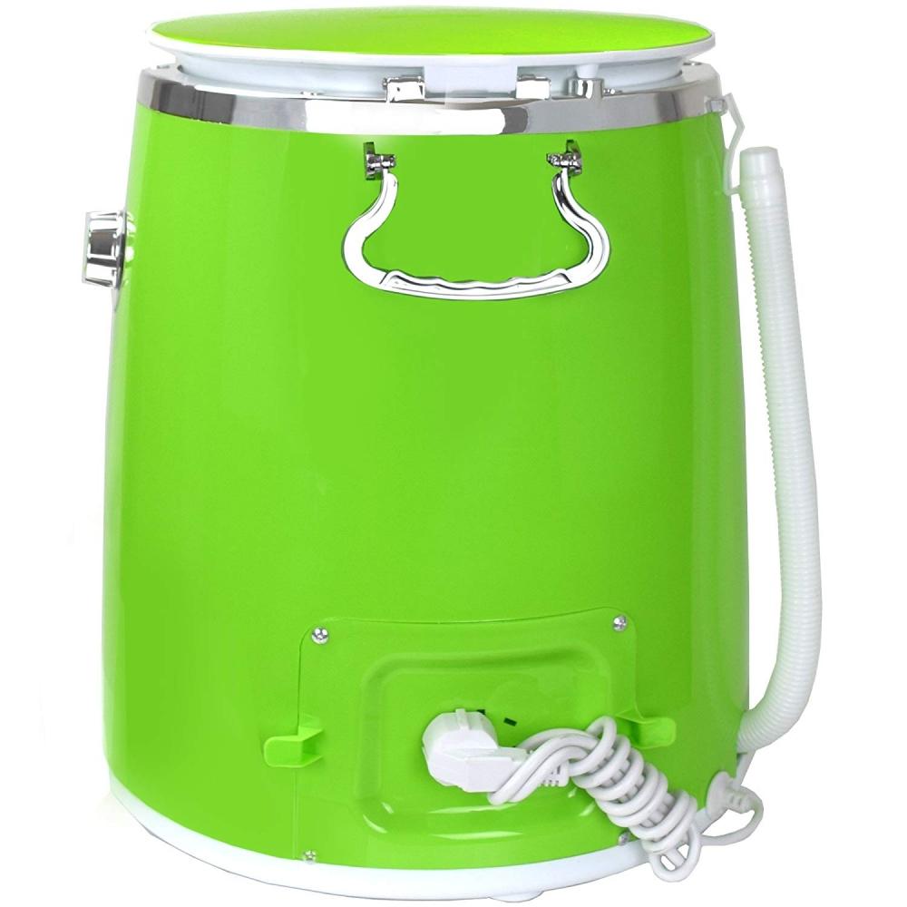 Syntrox 3, 0 Kg Waschmaschine mit Schleuder und Timer Grün