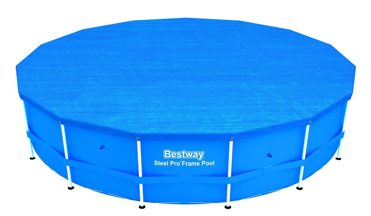 Bestway 56434 Frame Pool Steel Pro Set mit Filterpumpe + Zubehör 457 ...