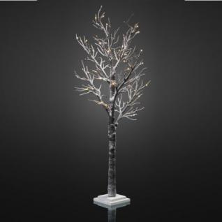 Hellum LED-Baum mit Schnee 120cm 48 BS warmweiß innen