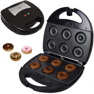 Syntrox Donutmaker Chefmaker mit austauschbaren Backplatten SM-1300W
