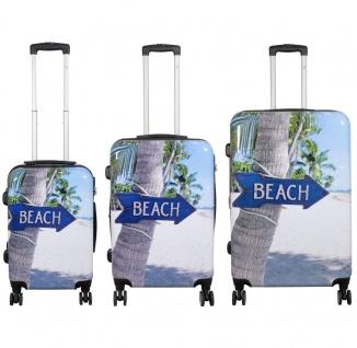 Kofferset 3tlg Reisekoffer Polycarbonat Hartschale America