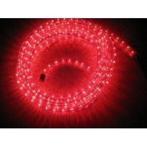 McShine LED Lichterschlauch rot 9, 00 m